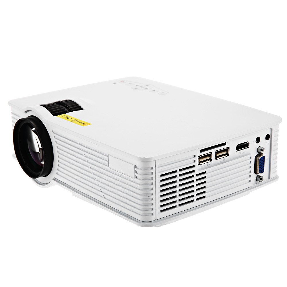 GP - 9 Mini Home Theater 2000 Lumens 1920 x 1080 Pixels Multimedia HD LCD Projector