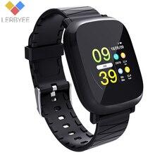 Купить с кэшбэком Lerbyee M30 Smart Watch Heart Rate Monitor Fitness Tracker Waterproof Sleep Monitor Sport Watch for IOS Android Christmas gifts