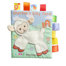 Learning Cloth Books with Cute Animal Figures and Stories