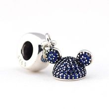 Mickey Design Sparkling Charm