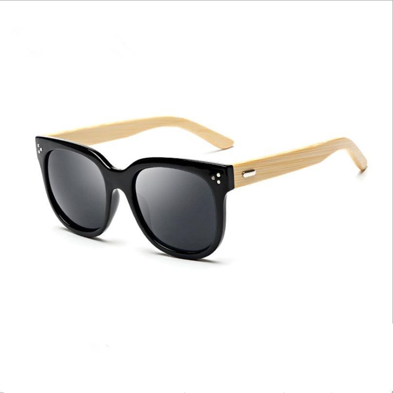 4c1d886a8e778 Newest Fashion Unisex Plastic Titanium frame Eyewear Handmade Bamboo leg of  the Sunglasses Colorful Polarized lens sunglasses