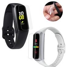 5pcs TPU רך מלא מגן סרט משמר עבור Samsung שעון Galaxy Fit R370/ Fit e R375 חכם צמיד מסך מגן כיסוי