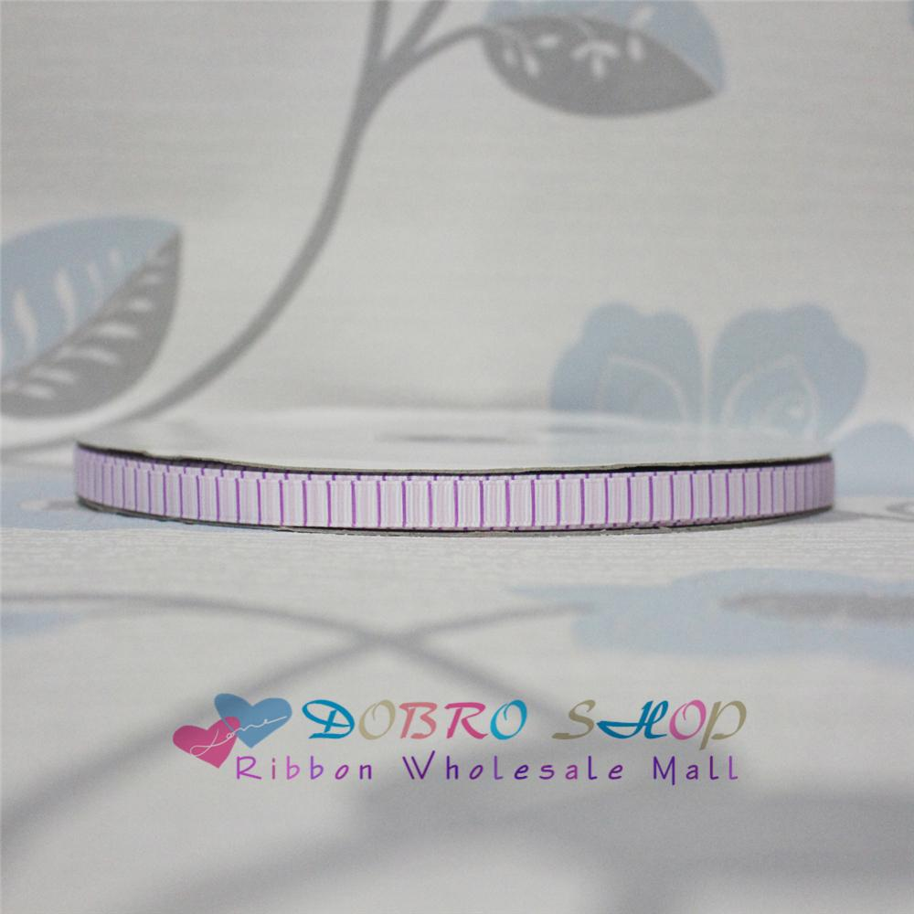 Big Sale 3/8 9mm Purple Pink Vertical Stripes Printed Grosgrain Ribbon for Hair Bow,Part ...