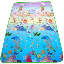 Baby Play Gym Mats Single Side Outdoor Crawling Carpets Family Picnic Rugs Thickness of 5MM 3 Size Dimension
