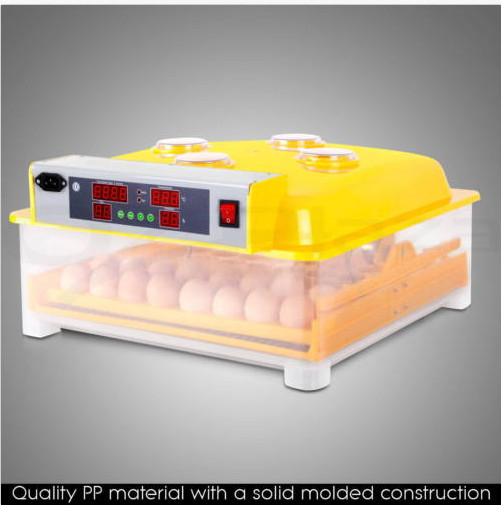 1 piece automatic chicken egg incubator 48 eggs incubator for family hatch machine