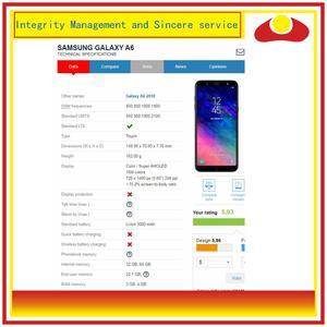 Image 3 - 10 pçs/lote Para Samsung Galaxy A6 2018 A600 A600F A600FN Montagem Do Monitor Do Painel de Display LCD Com Tela de Toque Digitador Completo
