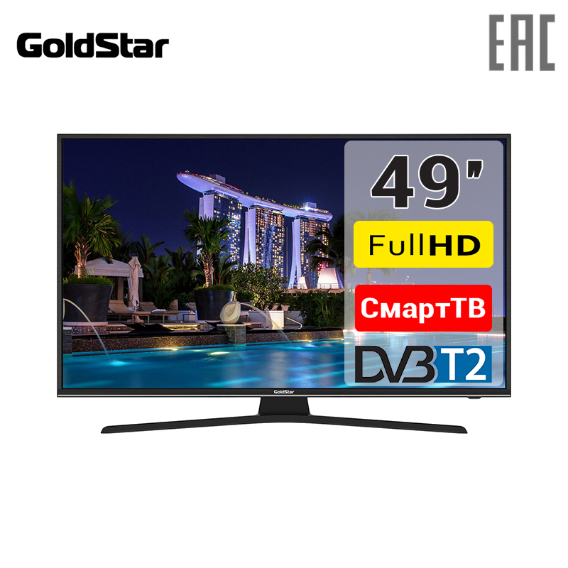 TV LED 49 GoldStar LT-50T600F FullHD SmartTV 4049inchTV телевизор goldstar lt 24t500r