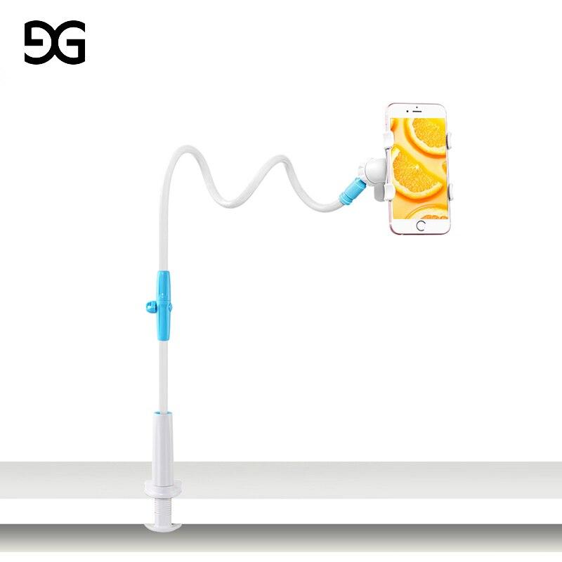 GUSGU Universale Stent Supporto Flessibile Pigro Basamento Del Telefono Mobile Letto Lungo Braccio/Desktop Staffa Clip Per iPhone/Xiaomi/Samsung