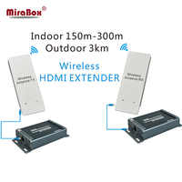 1080P Wireless HDMI Extender 5.8GHZ Support Max 3KM Outdoor HDCP Transmission Wireless Transmitter And Receiver HSV891W