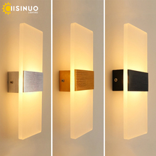 Modern 10W 6W LED Wall Lamp Bedroom Bedside Light Living Room Balcony Aisle Wall Lamp Corridor Wall Sconce Lighting 110V 220V стоимость