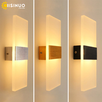 Modern 10W 6W LED Wall Lamp Bedroom Bedside Light Living Room Balcony Aisle Wall Lamp Corridor