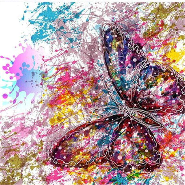 ZUCZUG 60D Diamond Painting Full Round Crystal Diamond Embroidery DIY Custom Kaleidoscope Patterns