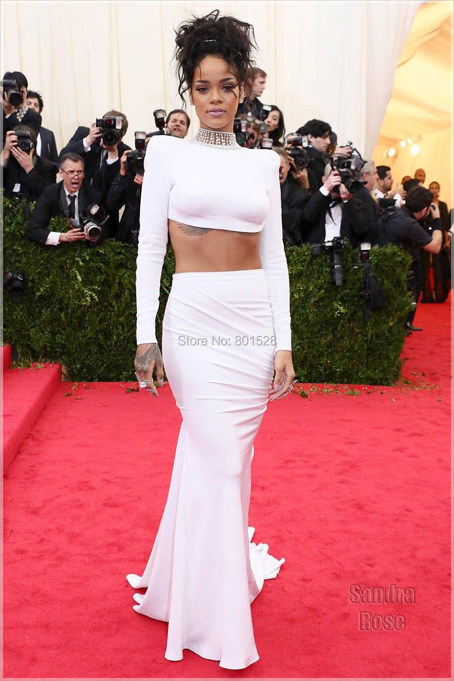 Rihanna Evening Dress