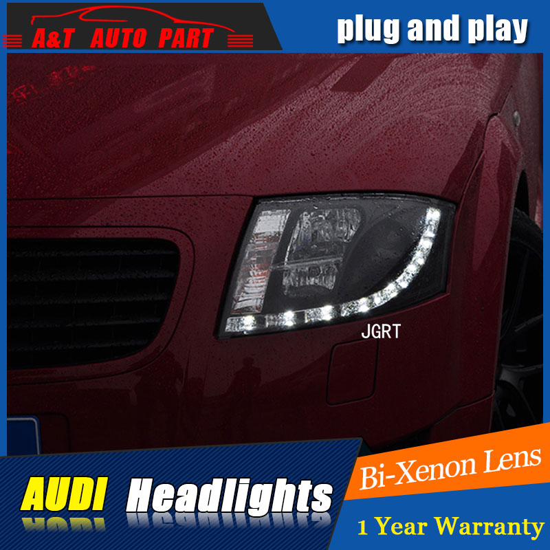 Auto Lighting Style LED Head Lamp for AU DI TT headlights 1999 -2006 for TT LED angle eyes drl H7 hid  Bi-Xenon Lens low beam auto part style led head lamp for benz w163 ml320 ml280 ml350 ml430 2002 2005 led headlights drl hid bi xenon lens low beam