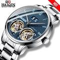 HAIQIN 2019 Mode Herren Uhren top-marke luxus uhr männer Tourbillon Business Mechanische wirstwatch Reloj mecanico de hombres