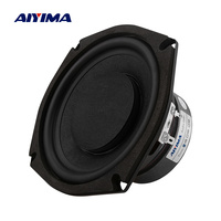 AIYIMA 1Pcs 5.25 Inch Subwoofer 4 8 Ohm 80W Woofer Speaker Super Bass Speakers Column Home Theater For 5.1 Subwoofer DIY