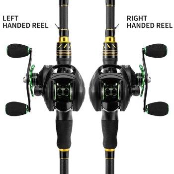 LINNHUE Best Baitcasting Reel BS2000 8.1:1High Speed Fishing Reel 8KG Max Drag Reinforced Reel Drag Reel Carp Drag Reel Fishing 2