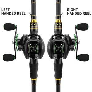 Image 2 - LINNHUE Best Baitcasting Reel BS2000 8.1:1High Speed Fishing Reel 8KG Max Drag Reinforced Reel Drag Reel Carp Drag Reel Fishing