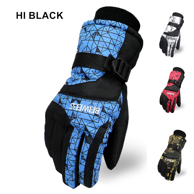 Snowboard Ski Gloves Women Men Gloves Snowmobile Motorcycle Riding Winter Gloves Windproof Waterproof Unisex Snow Gloves