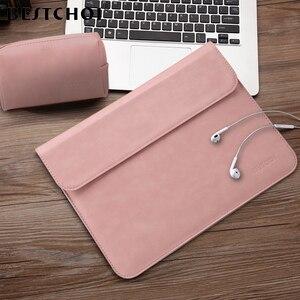 Image 1 - BESTCHOI Laptop Sleeve Bag for Macbook Pro Air 11 13 15 Case Women Men Waterproof Laptop Case Cover 12 13 13.3 14.1 15.4 inch