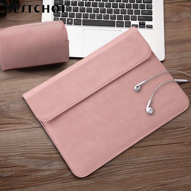 BESTCHOI แล็ปท็อปสำหรับ MacBook Pro Air 11 13 15 Case ผู้หญิงผู้ชายกันน้ำแล็ปท็อป 12 13 13.3 14.1 15.4 นิ้ว