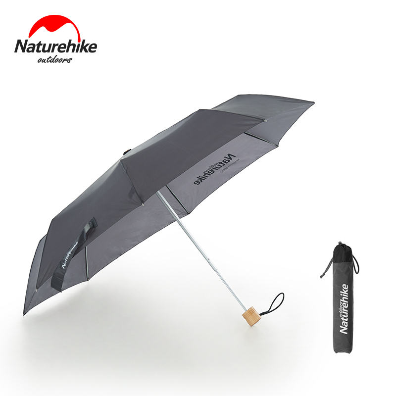 Naturehike windproof women men travel rain umbrella outdoor hiking umbrella with silicone coating UV-proof sun shade tarp free shipping dia 84cm chinese paper parasol rain sunshade womens umbrella with anthemy picture handmade oiled paper umbrella