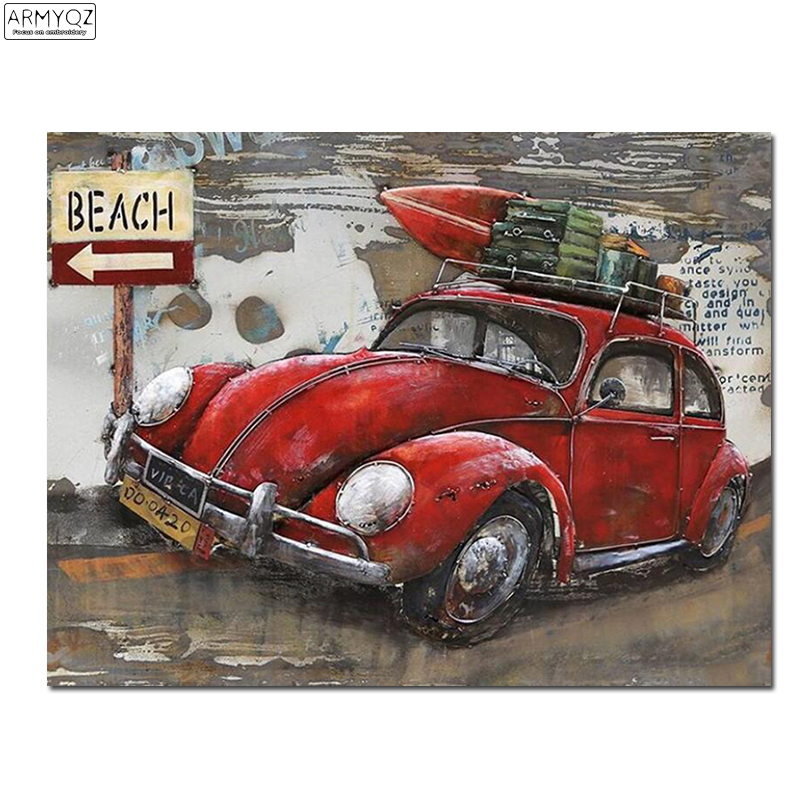 Car Craft Vw >> Us 4 62 30 Off Vw Car Diamond Painting Cross Stitch Hobbies And Craft Diy 5d Diamond Mosaic Embroidery Picture Of Rhinestone Home Decor Fc680 In