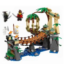 Mailackers 06059 Legoing Ninjago 70608 Master Falls 334Pcs Ninjagoe Series Jungle Tree Bridge Jay Kai Zane Building Blocks Toys(China)