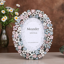 1PCS Classic Picture Frame Zinc Alloy Photo DIY Poster For Wall Hanging Album Living Room Home Decor