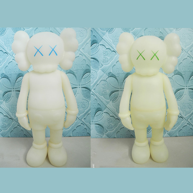 16 inch Originalfake kaws Luminous kaws Five Years Later kaws original fake companion Medicom Toy free shipping for vland car styling head lamp for vw golf 7 headlights led drl led signal h7 d2h xenon beam