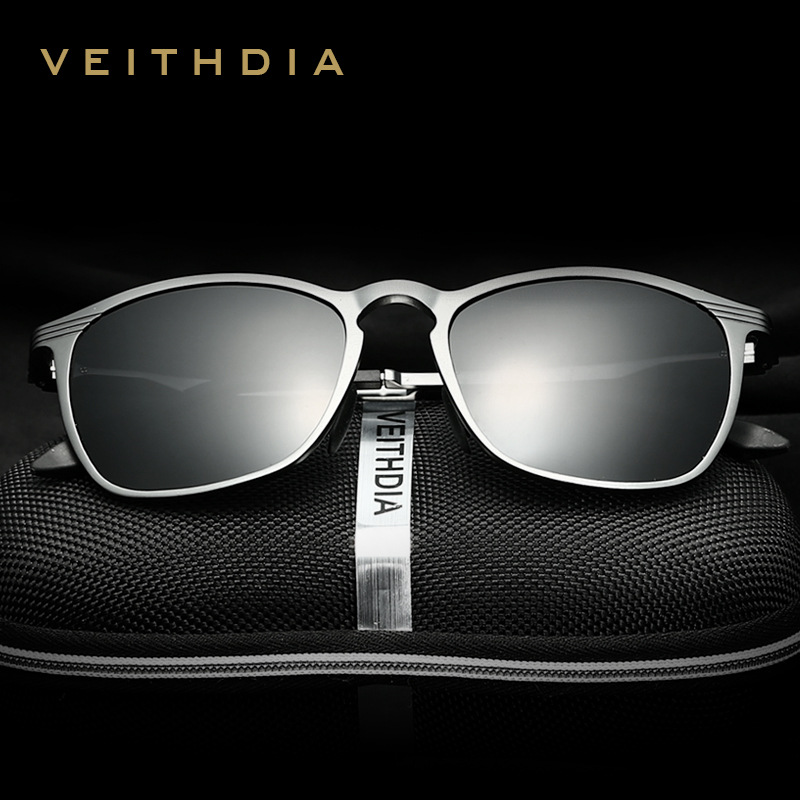VEITHDIA U Nisex R Etro อลูมิเนียมแมกนีเซียมแว่นตากันแดดแบรนด์เลนส์โพลาไรซ์วินเทจอุปกรณ์แว่นตาอาทิตย์แว่นตาผู้ชาย / ผู้หญิง 6630