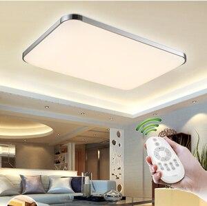 Новые потолочные светильники Внутреннее освещение led luminaria современные светодиодные потолочные лампы для гостиной лампы для дома Бесплатн...