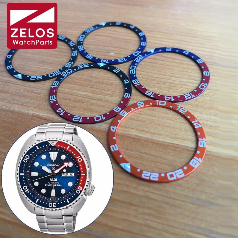 Luminous Watch Pepsi Coke Bezels Inserts Loop For Seiko Diver/Prospex Watch Parts