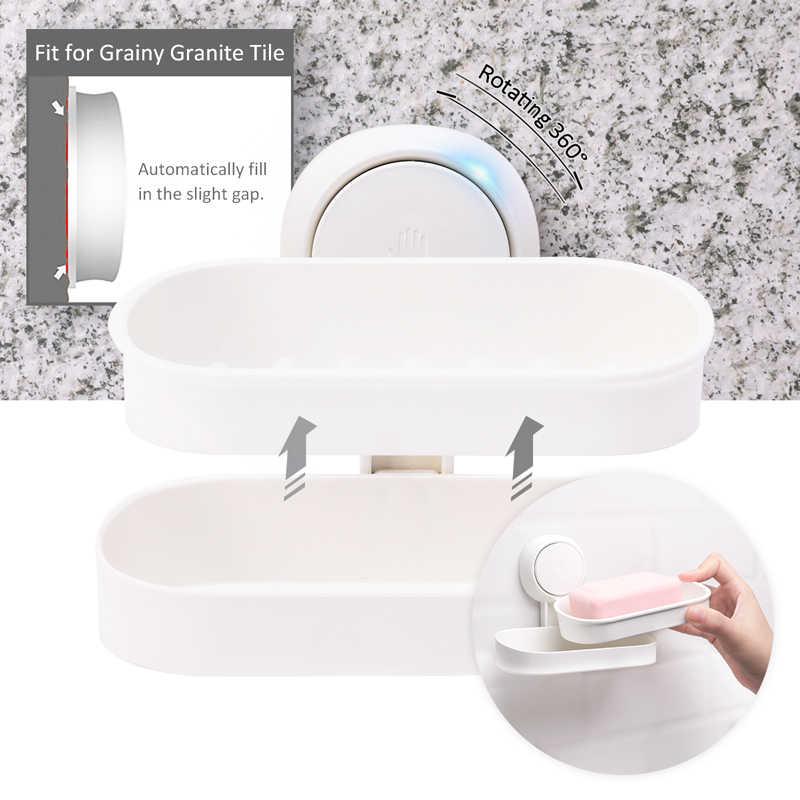 TAILI uchwyt na mydelniczkę próżniowe nasadki ssące do montażu na ścianie mydło Box zestawy akcesoriów łazienkowych mydelniczka zestaw