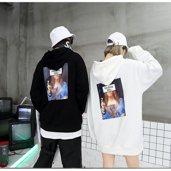 Newsmoking family hooded sweatshirts for street couples
