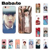 Babaite exo Lucky one TPU black Phone Case Cover Shell for iPhone 8 7 6 6S Plus 5 5S SE XR X XS MAX 10 11 11pro 11promax(China)