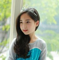 2017 Elegant Boutique Cheaper Hairbands Tiaras Handmade Child Hair Accessories Headpiece Made In China