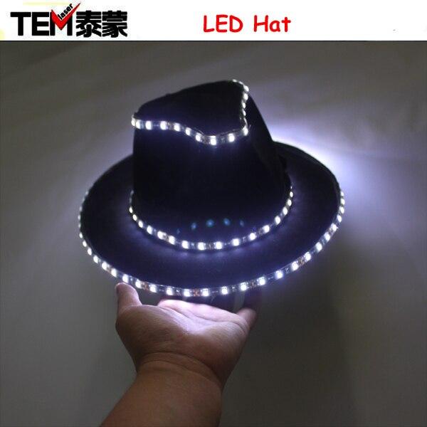 064382e91a5 Women Girls Men Boy Sequins Light Up LED Hip Hop Jazz Hats Cap Flashing  Blinking Party High Quality