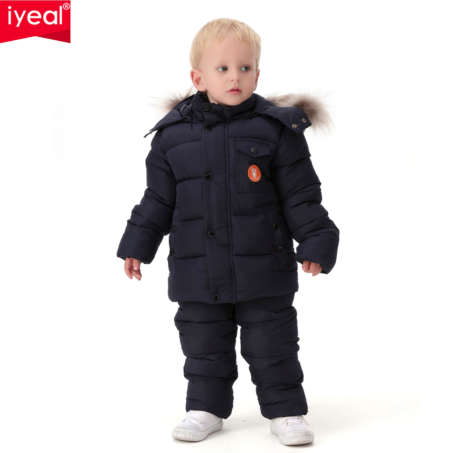 IYEAL-2017-Russia-Winter-Children-Clothing-Set-for-Infant-Boys-Down-Cotton-Coat-Jumpsuit-Windproof-Ski-Suit-Kids-Baby-Clothes-3