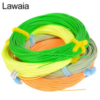 Lawaia Fishing line Fly Fish Multi color Main Line Length 30m Jointless WF Front Heavy Floating Fishing Line 4 Color Optional