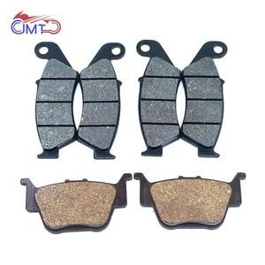 For Honda TRX450R 2004-2009 TRX450ER 2006-2014 ATV Front Rear Brake Pads Set TRX450 TRX 450 R ER(China)