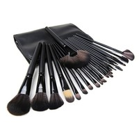 24Pcs Set Professional Makeup Brush Foundation Eye Shadows Powder Make Up Brushes Tools Bag Pincel Maquiagem