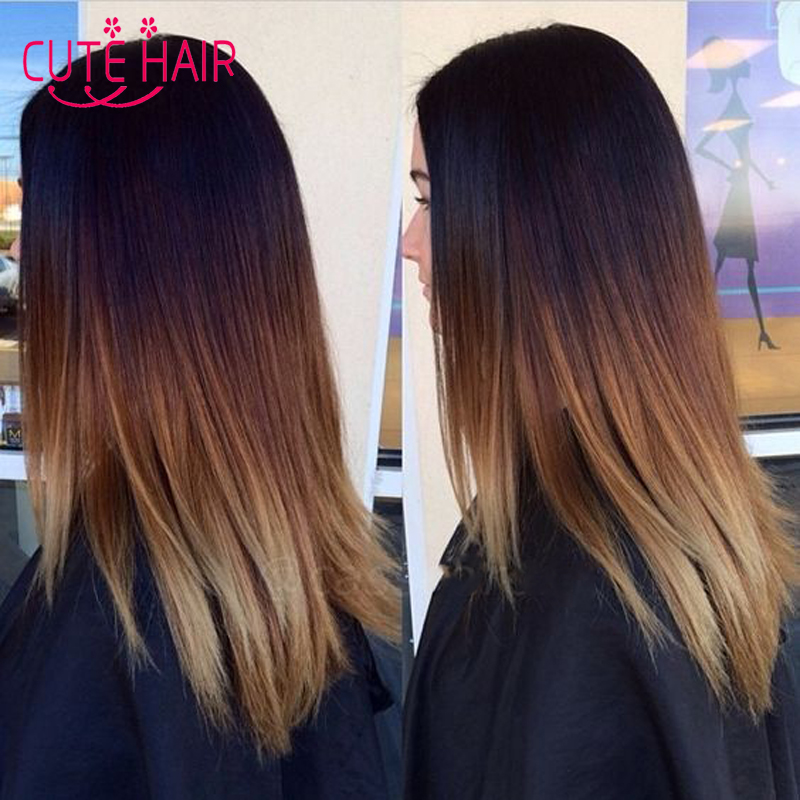 Amazing How To Ombre Hair With 3 Colors Short Hairstyles Gunalazisus