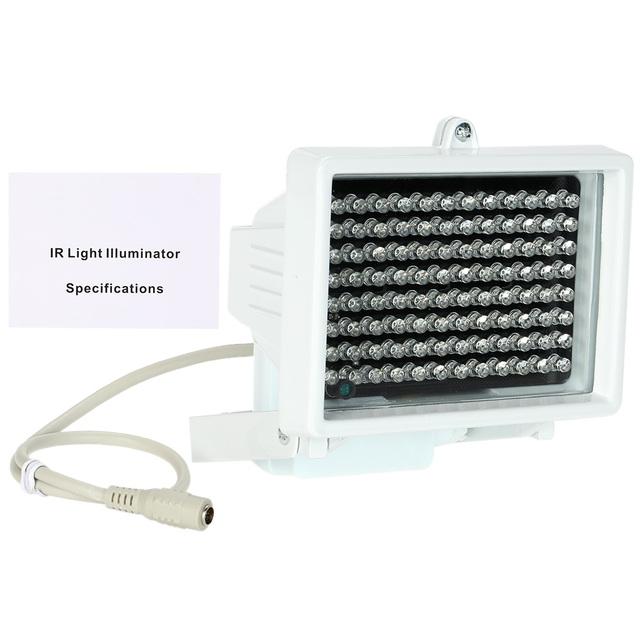 60m IR Distance 96 Leds Waterproof IR Illuminators Light IR Infrared Lamp LED Night-vision Fill Light For CCTV Security Camera