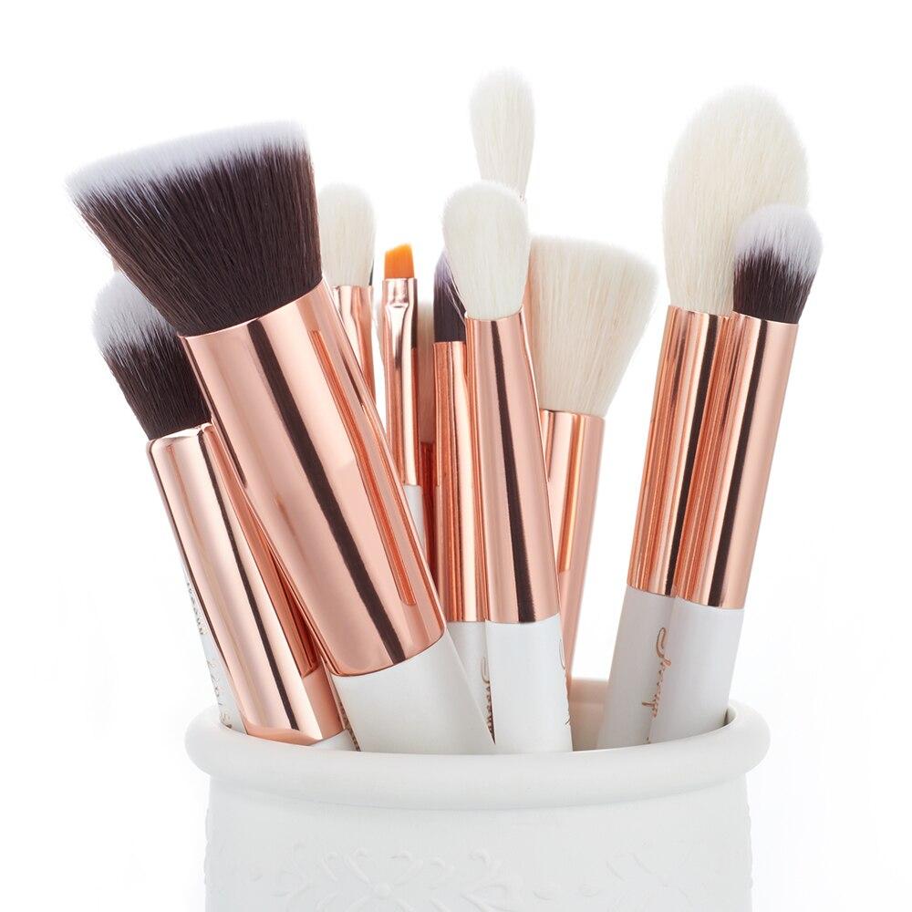 Tesoura de Maquiagem pérola/ouro rosa pincéis de maquiagem Sale Method : Retail&wholesale&dropshipping&agent