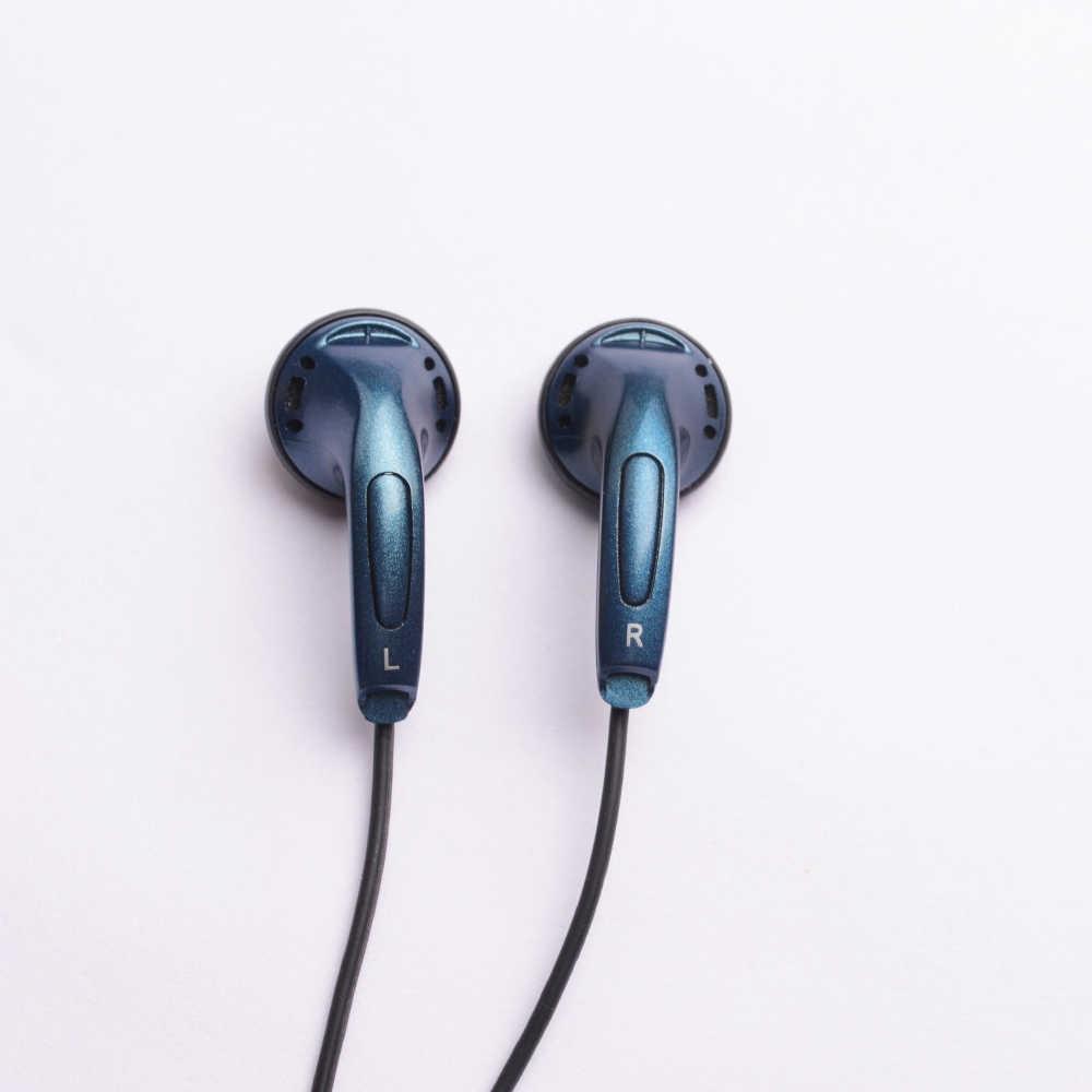 OKCSC フラット耳栓 3.5 ミリメートル有線イヤホンドライバマイクサポートコール携帯電話との andriod IOS