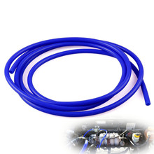 Straight Silicone Coolant Hose 1 Meter Length Intercooler Pipe ID 3mm 4mm 6mm 8mm Red/Blue/Black