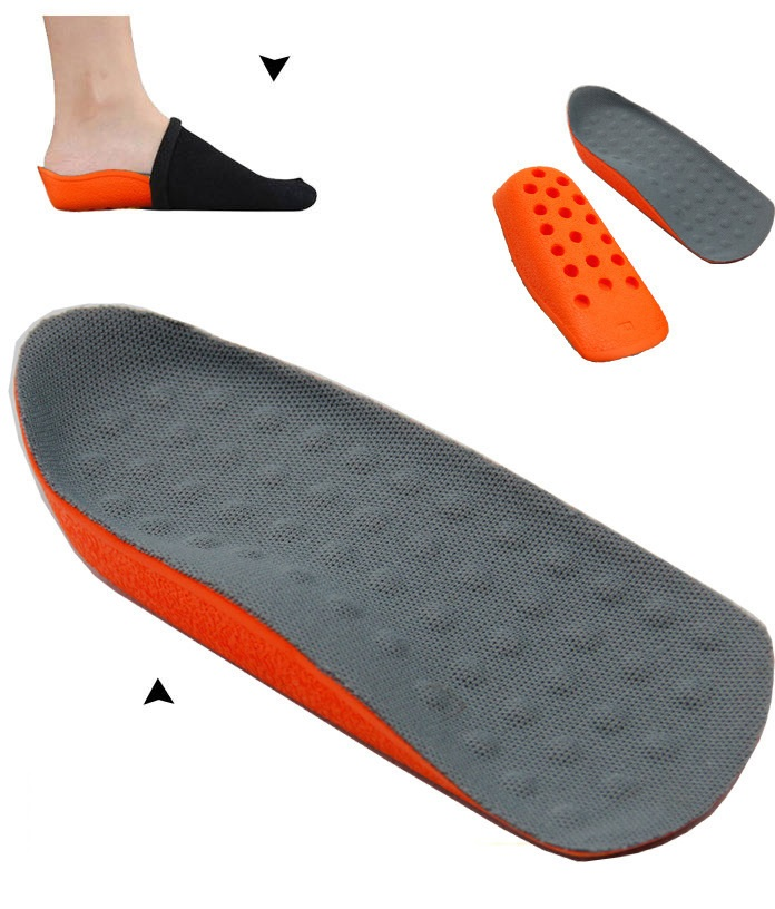 Wholesale Priceinvisibility taller insert Men and women Cushion height increase high increasing insoles Shoe feet care