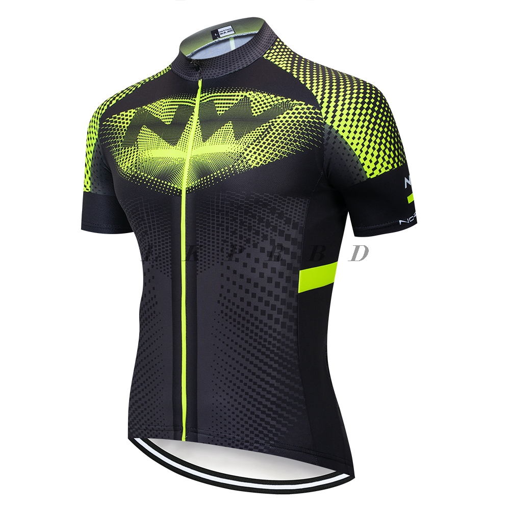 NW jersey 2019 NEW NORTHWAVE Summer Men Cycling Jersey Short Sleeve Quick drying Breathable Bicycle Clothes Clothing wholesale in Cycling Jerseys from Sports Entertainment