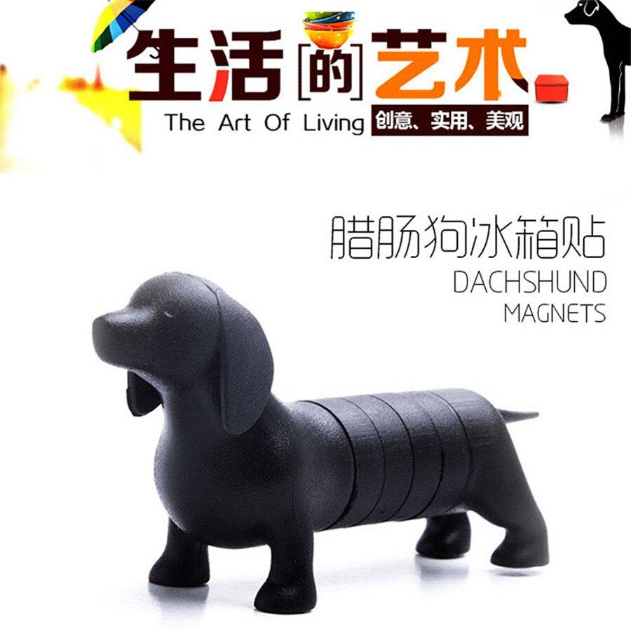 Novelty Dachshund Dog Magnets Stick Home Decoration Mini Dog Fridge ...